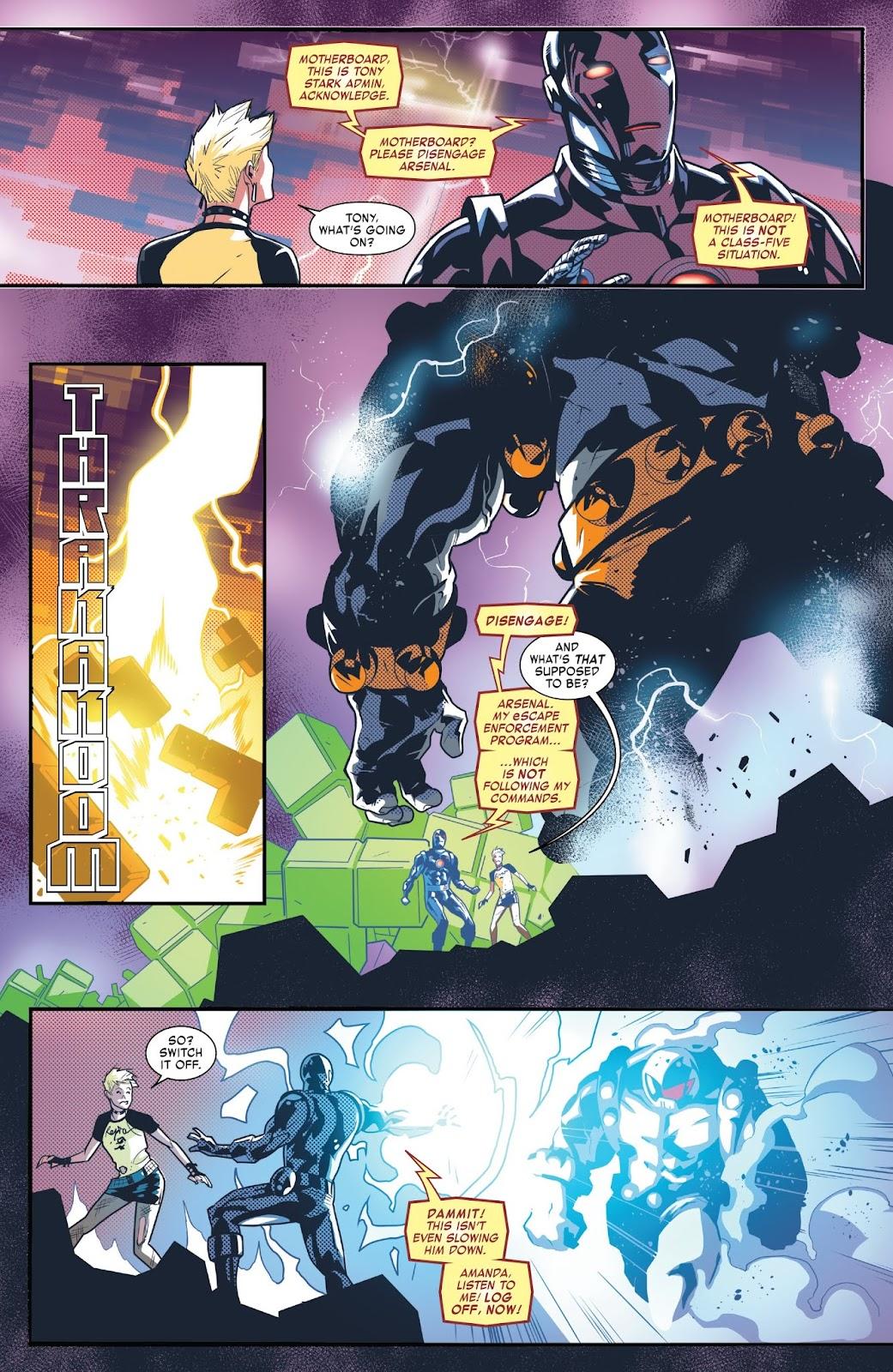 Read online Tony Stark: Iron Man comic -  Issue #6 - 18