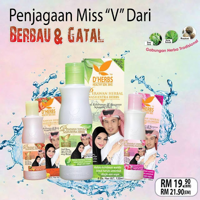 Perawan Herbal Wash D'Herbs