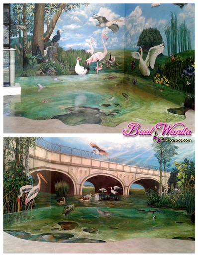 Tempat menarik putrajaya pusat penghayatan alam buat wanita for Mural yang cantik