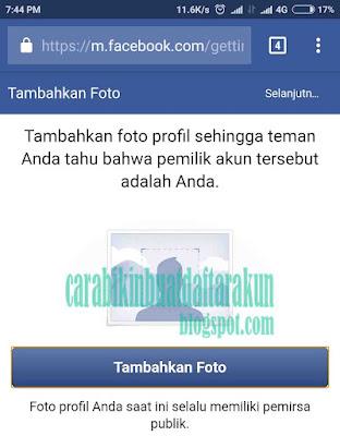 Cara Buat Akun Facebook Baru