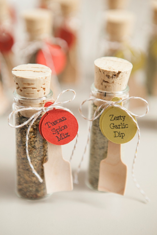 chic Food wedding favors and Seed wedding favors