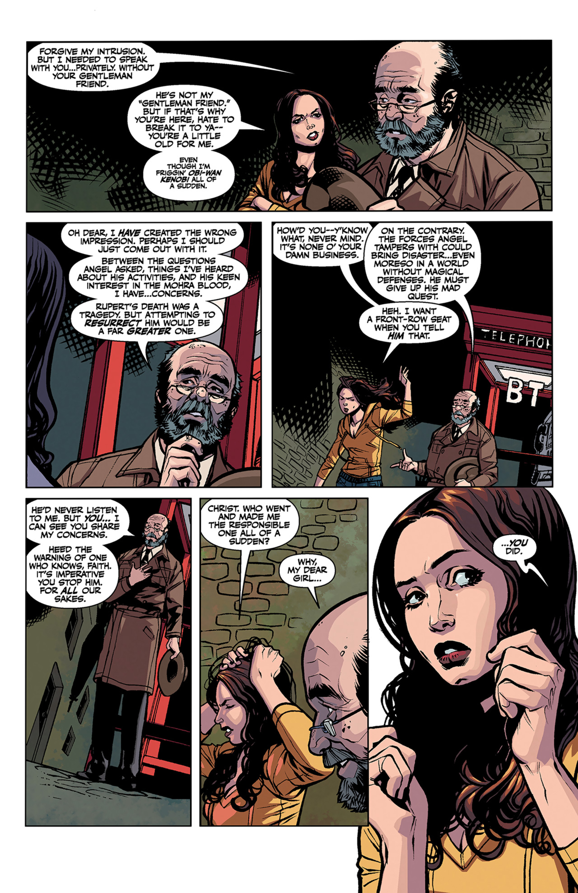 Read online Angel and Faith comic -  Issue #3 - 18