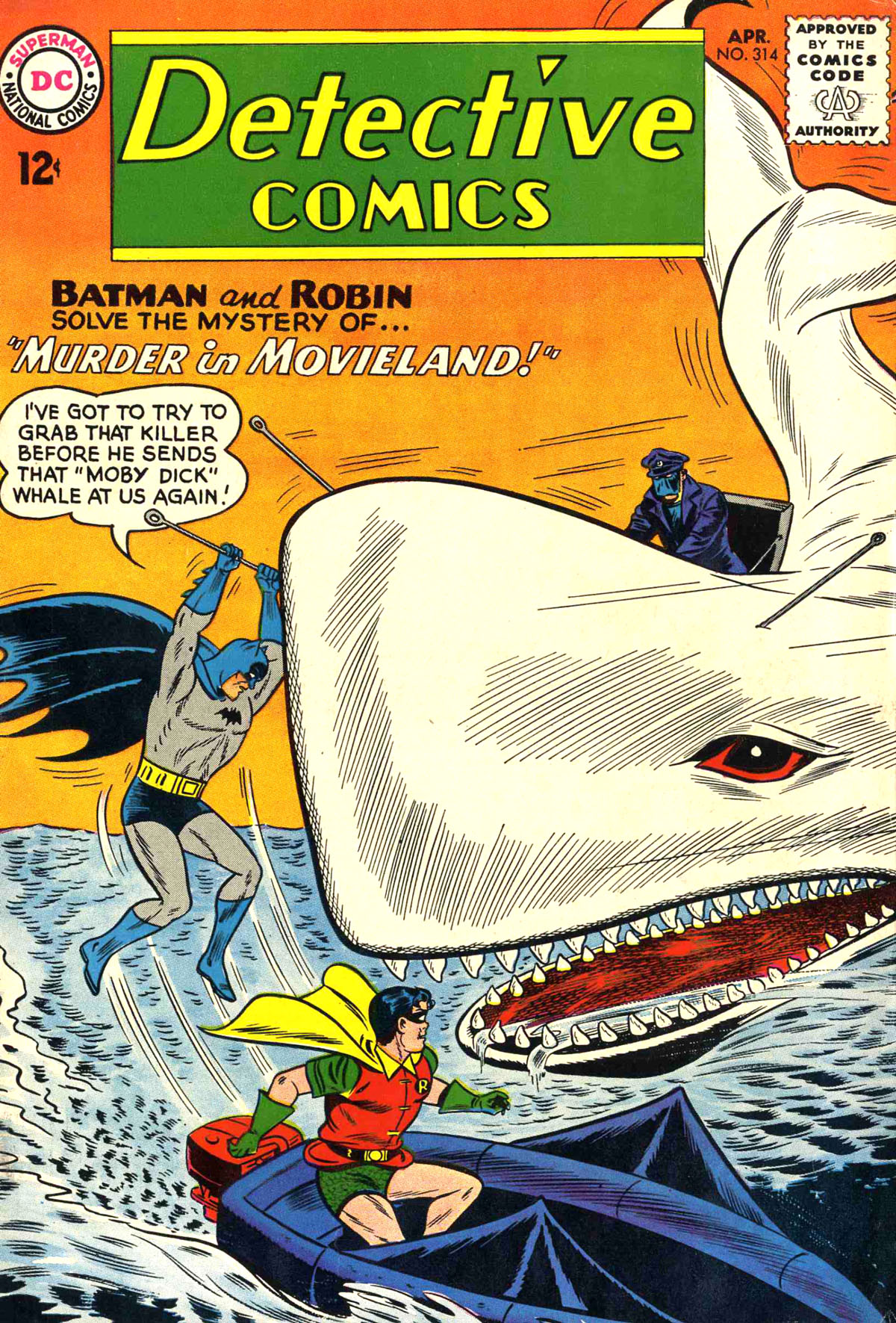 Detective Comics (1937) 314 Page 0