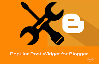 Auto Numbering Popular Posts widget for Blogger