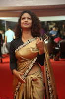 Aditi Myakal look super cute in saree at Mirchi Music Awards South 2017 ~  Exclusive Celebrities Galleries 020.JPG