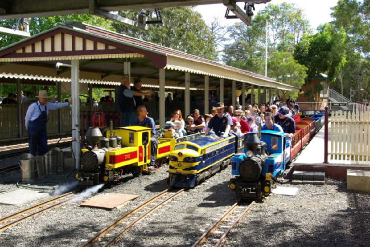 Things to do with Under 5's: Miniature Railways in Melbourne