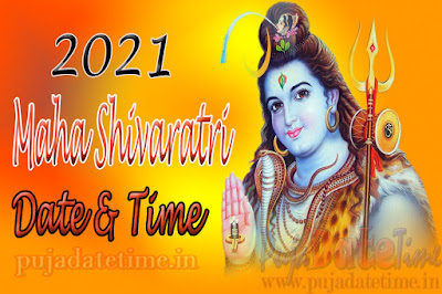 2021 Maha Shivaratri Date & Time for India
