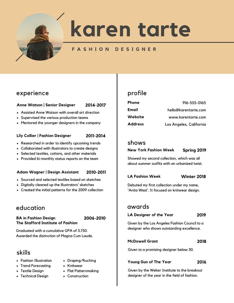 Cute Cara Buat Resume Yang Menarik Ideas - Entry Level Resume ...
