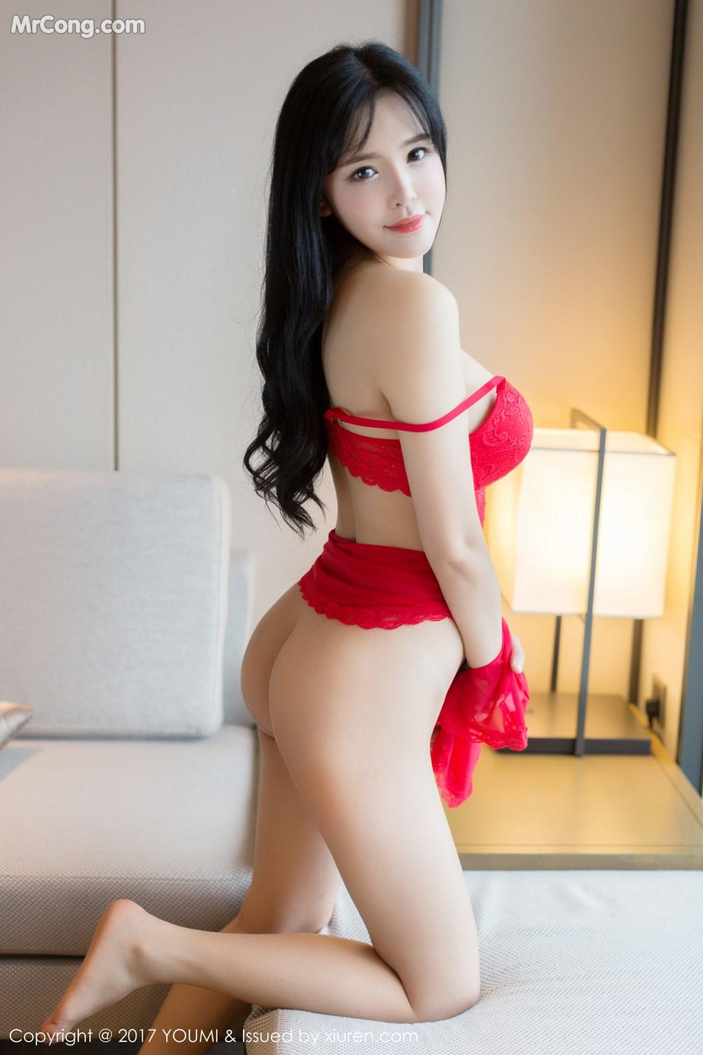 Image YouMi-Vol.064-Liu-Yu-Er-MrCong.com-013 in post YouMi Vol.064: Người mẫu Liu Yu Er (刘钰儿) (46 ảnh)