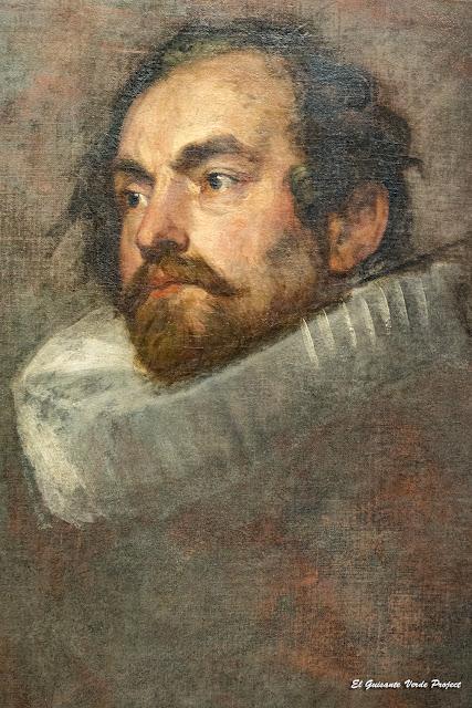 Van Dyck. Boceto atribuido a Rubens, Casa Rubens - Amberes por El Guisante Verde Project