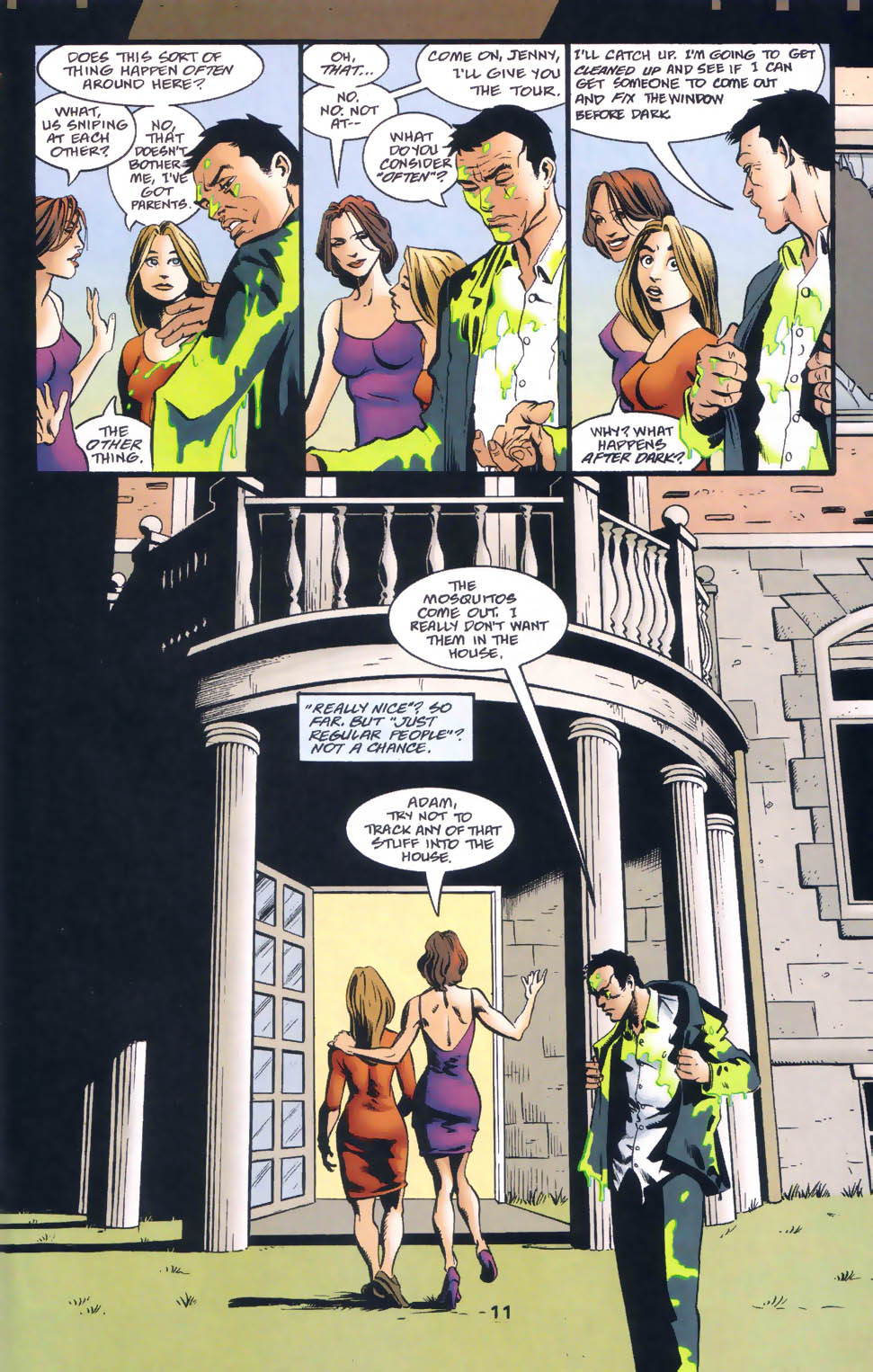 Read online Midnight, Mass comic -  Issue #1 - 12