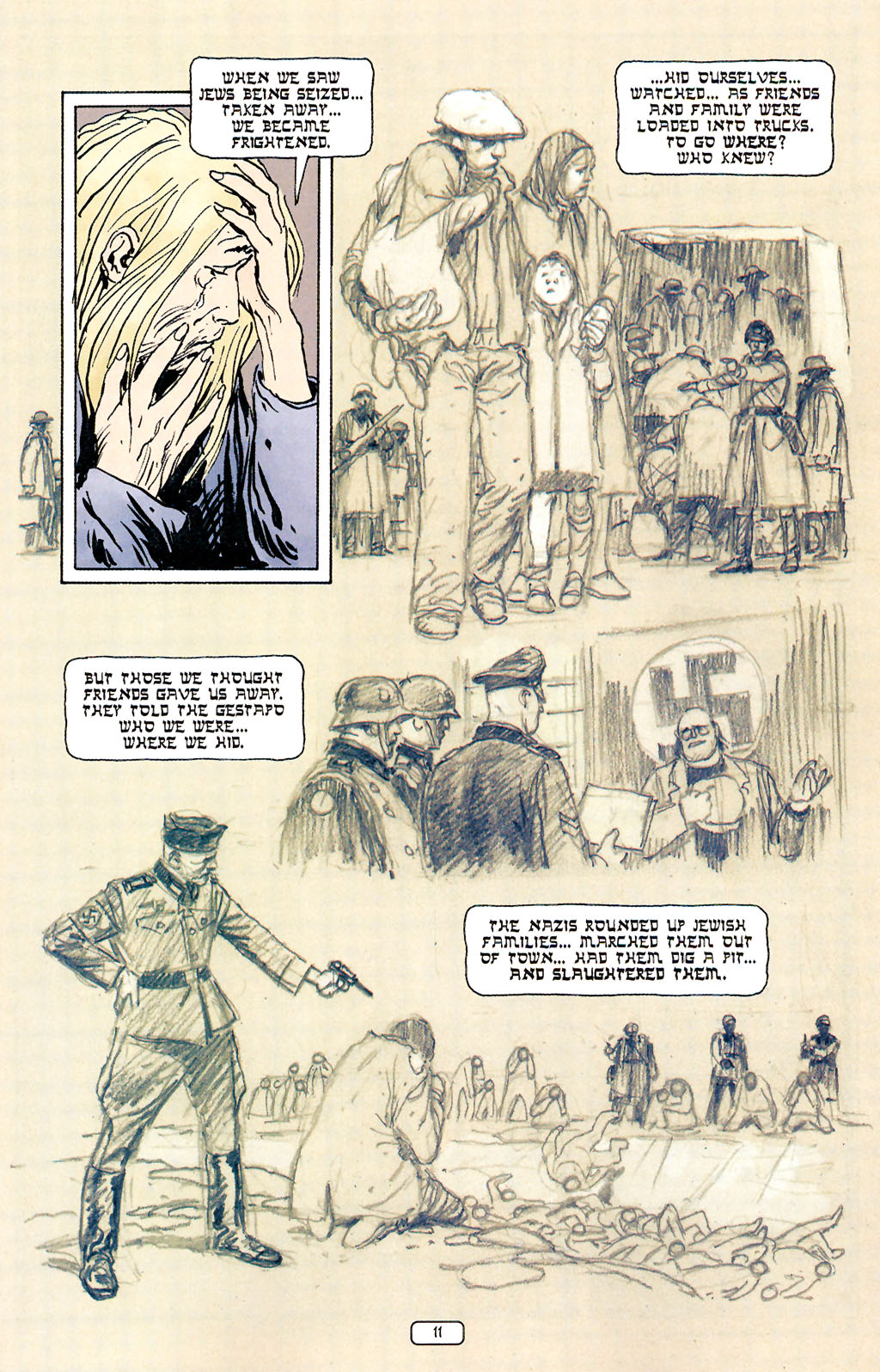 Read online Sgt. Rock: The Prophecy comic -  Issue #5 - 11