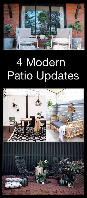 4 modern patio updates