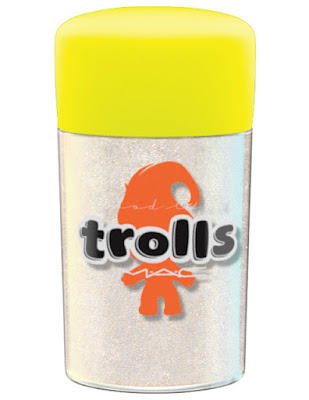 MAC Good Trolls reflects glitter reflects transparent teal