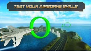 Game Jet Fighter Highway Landing App