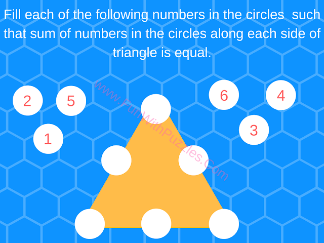 Math Number Triangle Puzzle-1