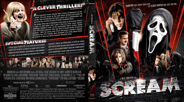 Capa Bluray Scream
