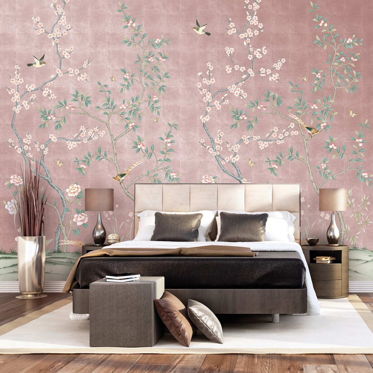 Chinoiserie Wallpaper For Less Petite Haus