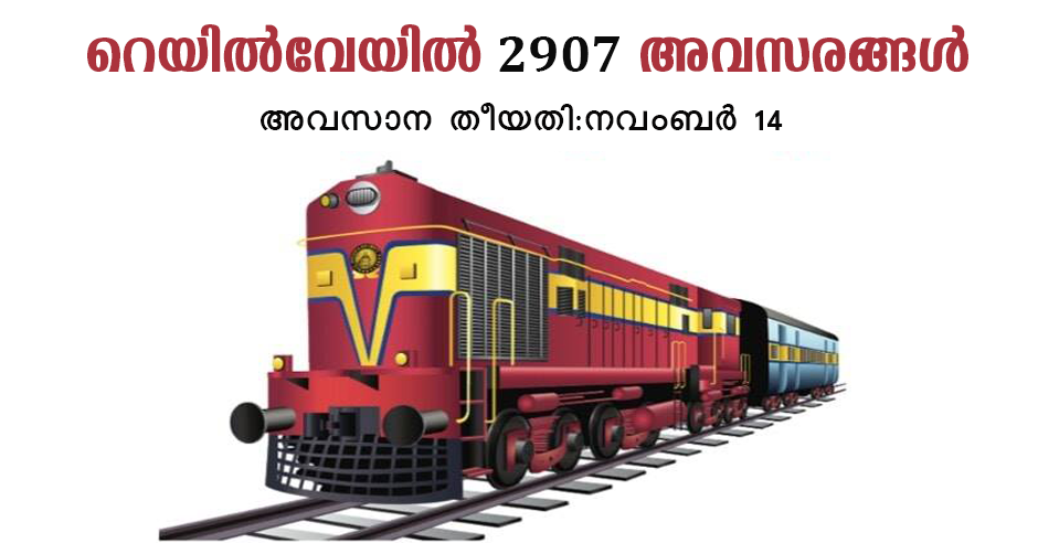 Eastern Railway Recruitment 2018 | 2907 Apprentice posts | Apply online @ er.indianrailways.gov.in
