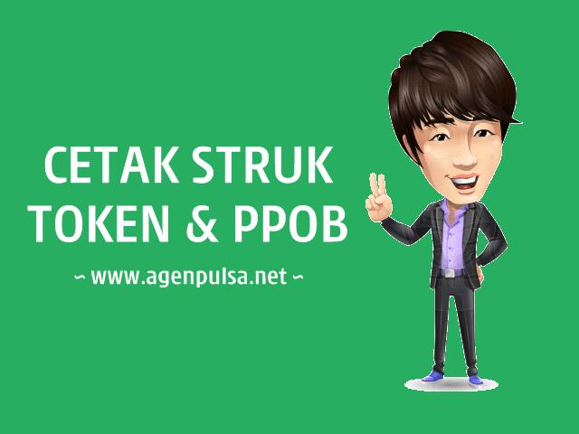 Fasilitas Cetak Struk Token PLN & PPOB AgenPulsa.net