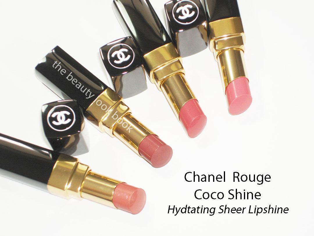 Chanel Rouge Coco Shines évasion Fétiche Romance Chance The