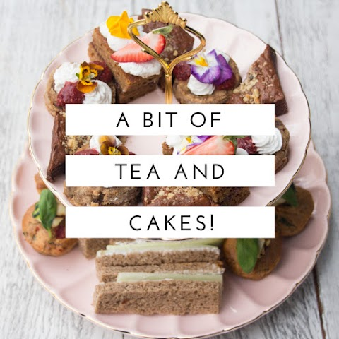 A little bit of tea and cakes