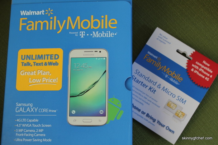 Walmart Family Mobile Plus featuring Unlimited talk, text, & data up to 10 GB of 4G LTE