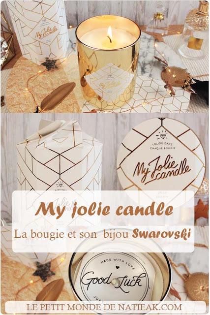 avis sur la bougie bijou My jolie candle
