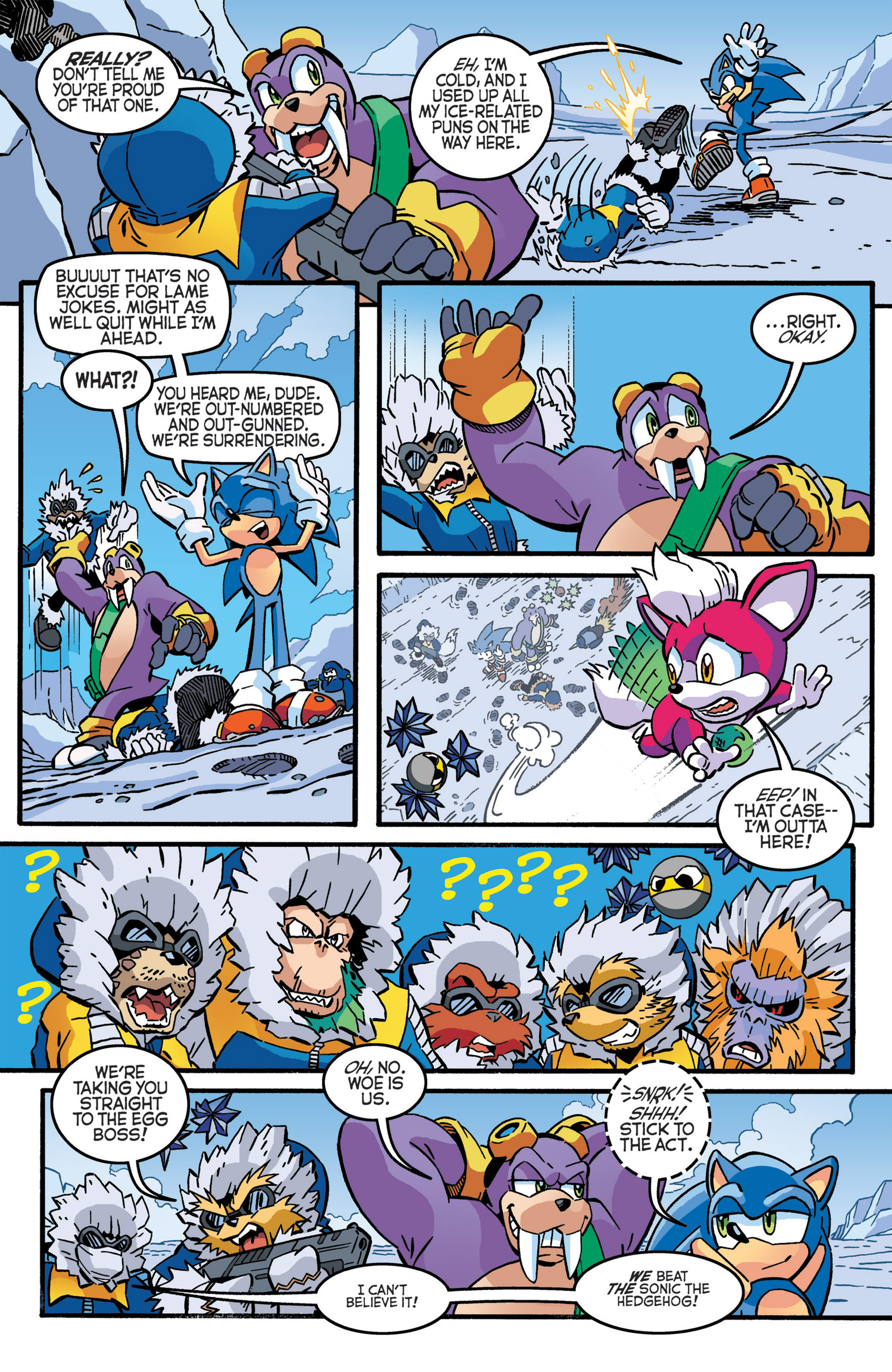 Read online Sonic The Hedgehog comic -  Issue #276 - 4