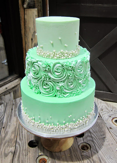mint green ombre wedding cake delectable cakes mint green swirl wedding cake 17448