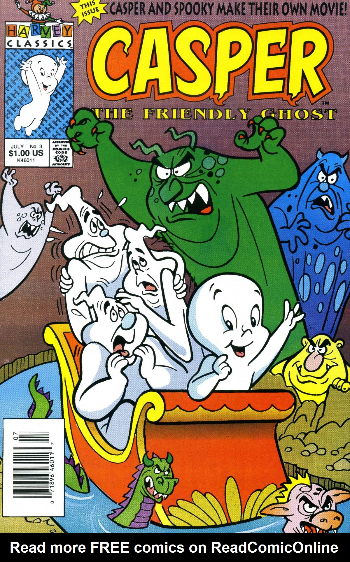Casper the Friendly Ghost (1991) 3 Page 1