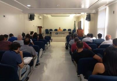 Diretoria de Geologia e Recursos Minerais visita a Superintendência de Belém