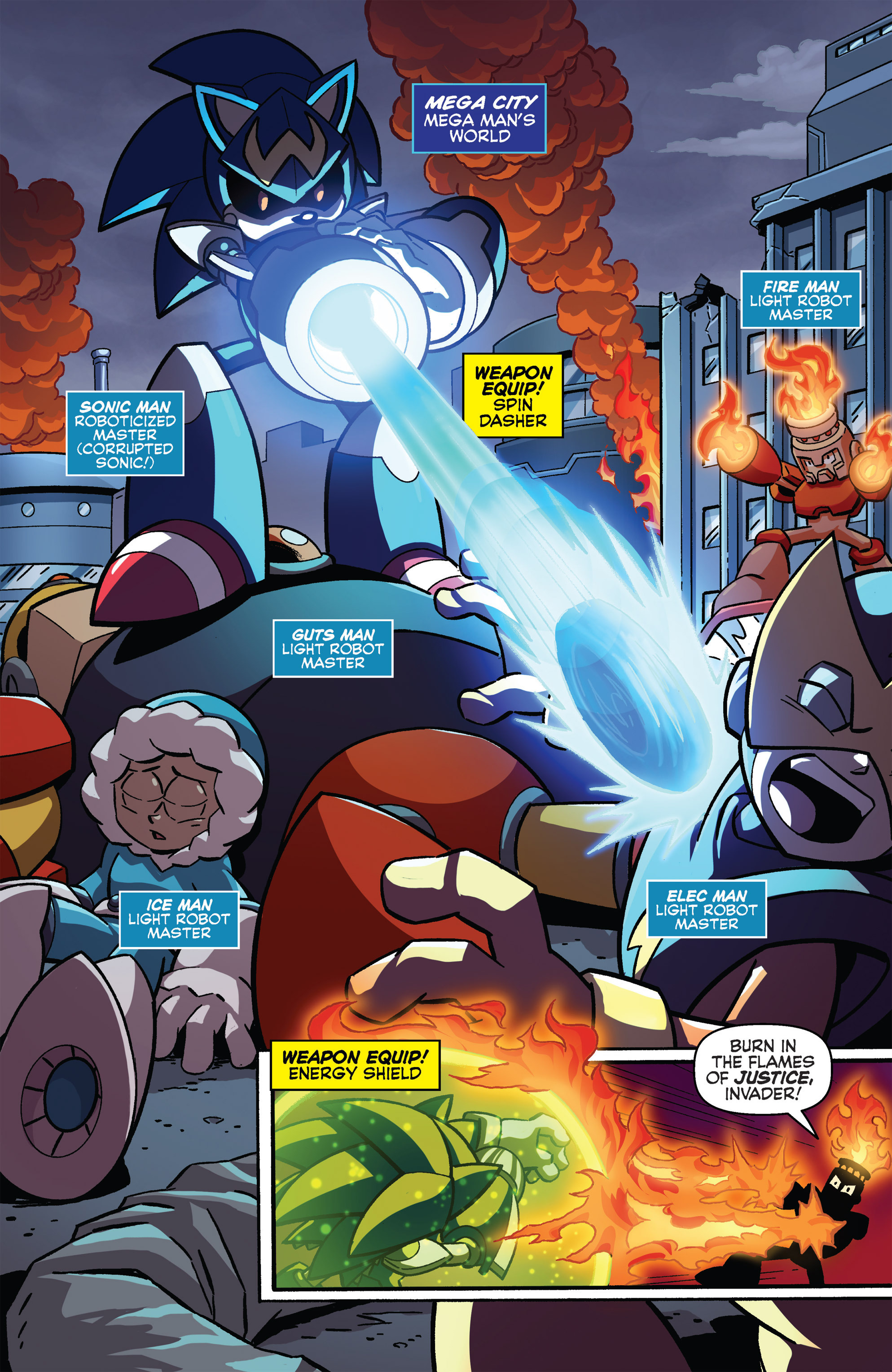 Read online Sonic The Hedgehog comic -  Issue #273 - 3