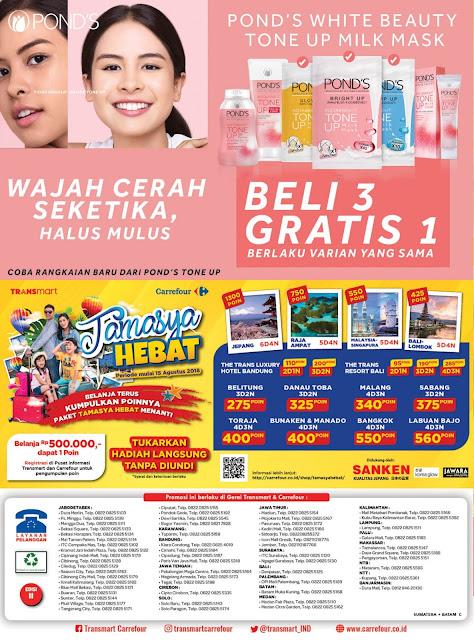 Katalog Promo Transmart Carrefour Sumatera Edisi 16 Januari Sampai 29 Januari 2019