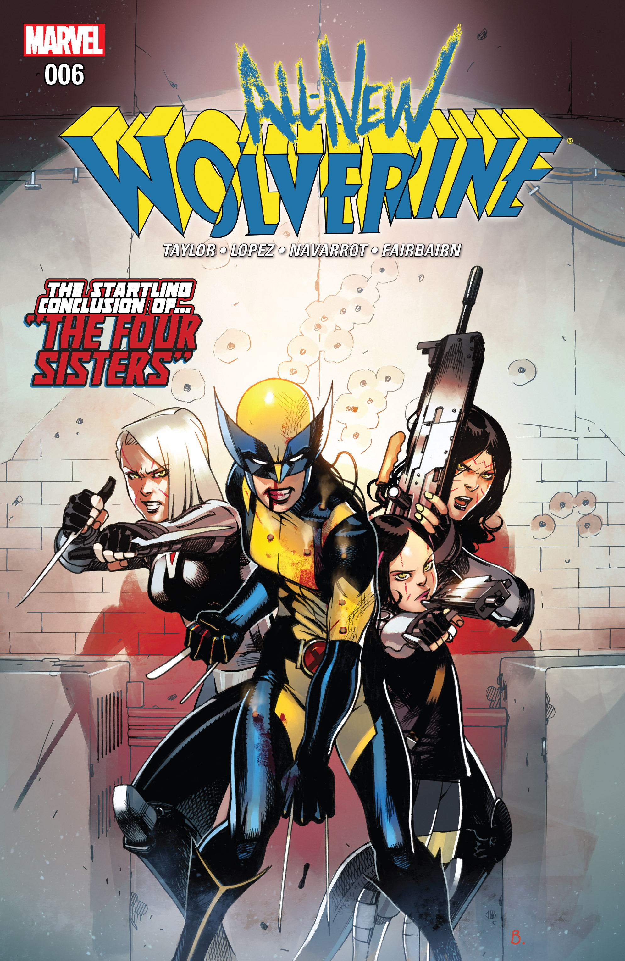 Read online All-New Wolverine (2016) comic -  Issue #6 - 1