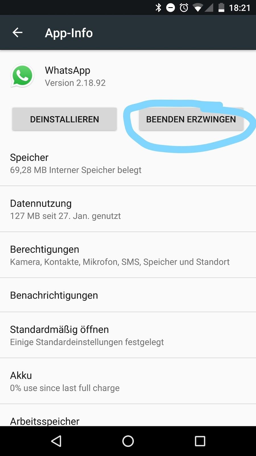 Whatsapp Online Ausschalten Android