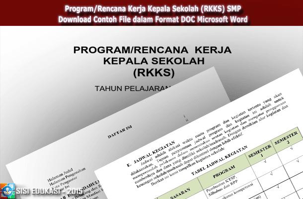 Program Kerja Kepala Sekolah Sma