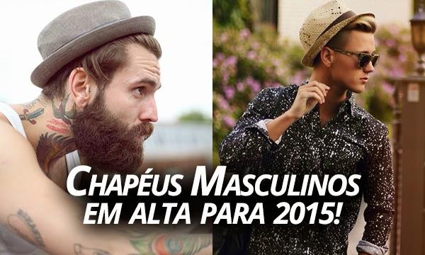 Macho Moda - Blog de Moda Masculina  Chapéus Masculinos 8107caa0a96