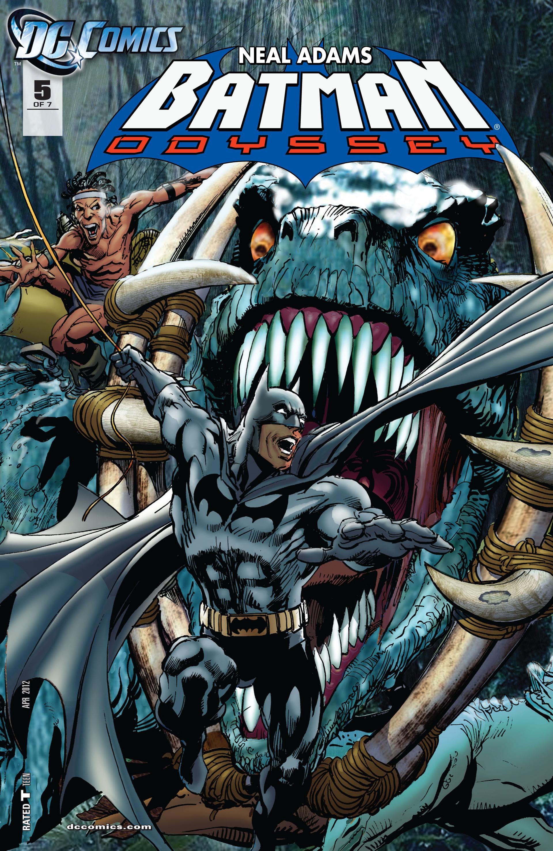 Batman: Odyssey (2011) 5 Page 1