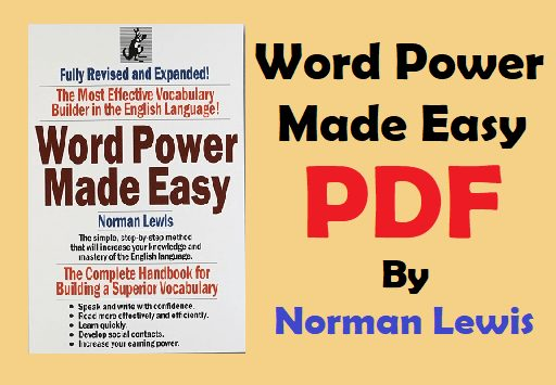[Latest*] Word Power Made Easy PDF by Norman Lewis Download