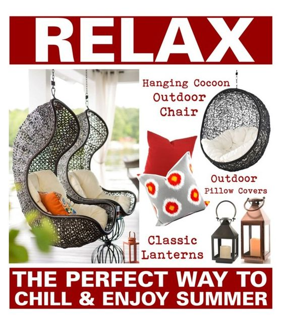 Hanging Chairs - The Perfect Way To Chill And Enjoy Summer www.toyastales.blogspot.com #ToyasTales