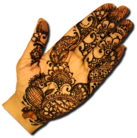 Indian Mehndi Designs for Front Hand