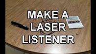 Підслуховування через скло. Лазерна передача звуку