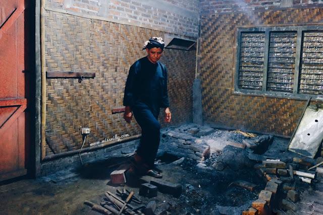 dapur keris empu sungkowo di desa malangan