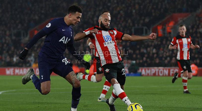 توتنهام يسقط امام ساوثهامتون بهدف وحيد في الدوري الانجليزي من بداية العام 2020