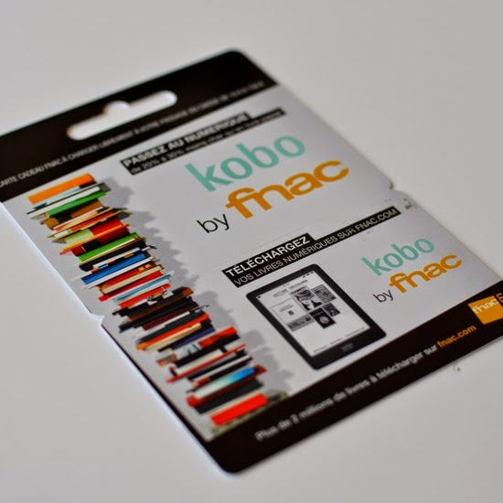 book scrap carte cadeau kobo by fnac comment a marche. Black Bedroom Furniture Sets. Home Design Ideas