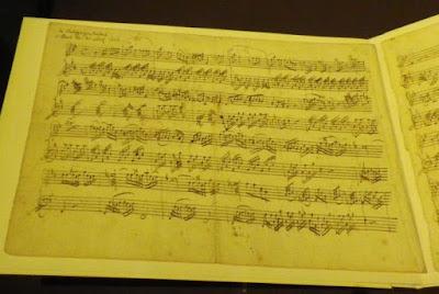 Mozart KV 8 autographe de Leopold Mozart