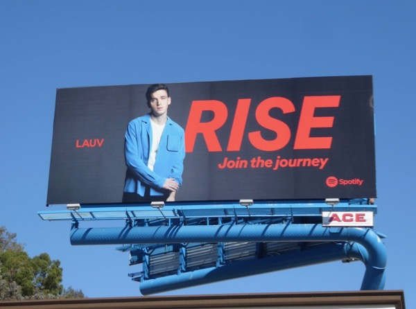 Lauv Rise Join journey Spotify billboard