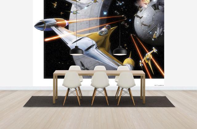 Star Wars tapet rymden space rymdskepp