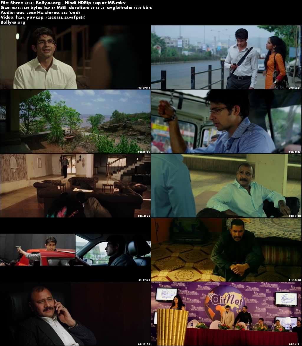 Shree 2013 HDRip 800Mb Hindi Movie 720p Download